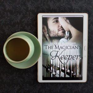 The Magician's Keeper, Nicola E. Sheridan, Earl Grey Editing, books and tea, tea and books