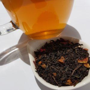 Christmas tea, Glenbog, Earl Grey Editing, loose-leaf tea
