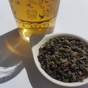 Earl Grey Editing, loose-leaf links, loose-leaf tea, Arabian Mint, Mrs Oldbucks