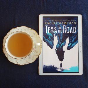 Tess of the Road, Rachel Hartman, Earl Grey Editing, tea and books, books and tea