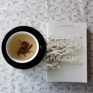An Unkindness of Magicians, Kat Howard, Earl Grey Editing, tea and books, books and tea