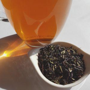 Loose-leaf Links, loose-leaf tea, mint slice tea, Adore tea, Earl Grey Editing