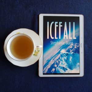 Icefall, Stephanie Gunn, Twelfth Planet Press, books and tea, tea and books, Earl Grey Editing