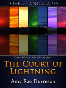 Cover for The Court of Lightning by Amy Rae Durreson