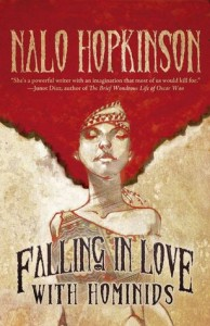 Falling in Love with Hominids, Nalo Hopkinson, Tachyon Publications, short story collection, fantasy, magical realism, speculative fiction